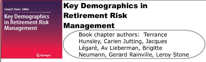 Key Demographics in Retirement Risk Management